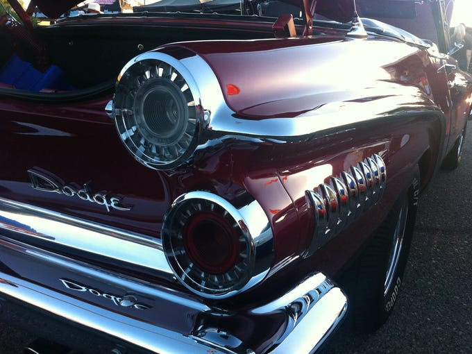 This maroon 1962 Dodge Dart is a great example of how