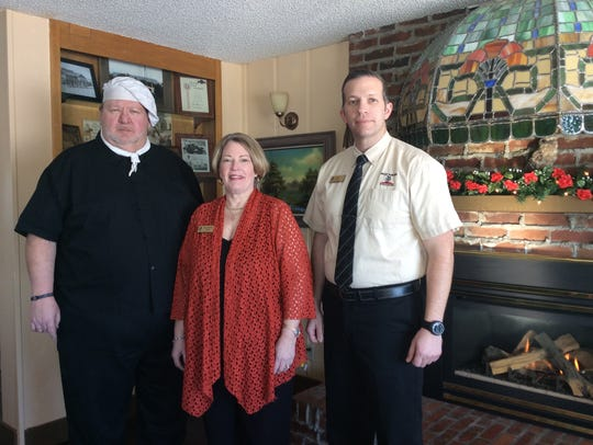 Chef Michael, Catherine and  Eric Shaw are the owners