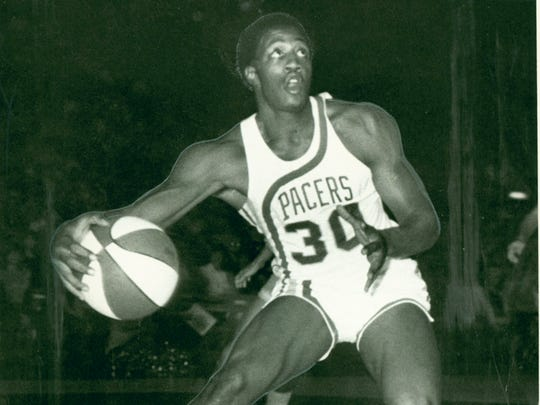 George McGinnis, Indiana Pacers: Oct. 1971.