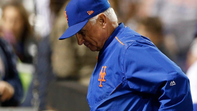 """""""The expectations don't go away,"""" manager Terry Collins says of a season where injuries chipped away at his rotation."""