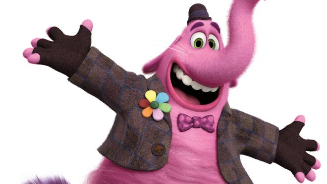 Richard Kind voices Bing Bong, Riley's imaginary friend in 'Inside Out,' who is a cat/elephant/dolphin hybrid made of cotton candy.