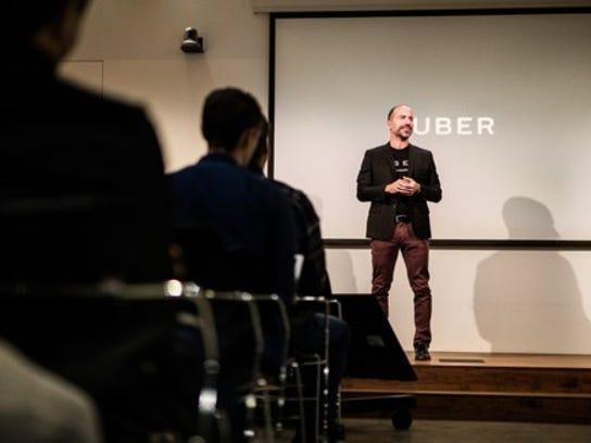 Uber's new CEO Dara Khosrowshahi