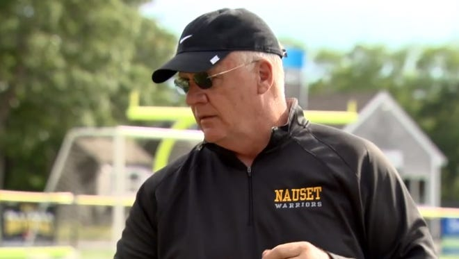 Former Green Bay Packers coach Mike Sherman is the subject of an NBC Sports digital series about his experience as coach of a Massachusetts high school team.