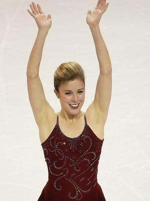 """Ashley Wagner, shown here at last year's world championships, says the team event at the Winter Olympics """"will be an incredible event to watch."""""""