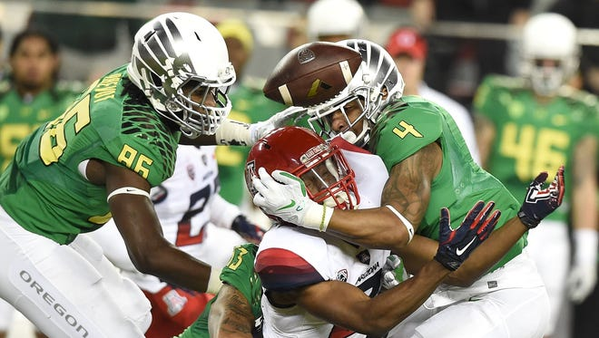 Oregon's Erick Dargan was fascinated by Florida State's ability to handle in-game adversity.