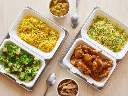 A long list of Chinese-American options like mapo tofu,