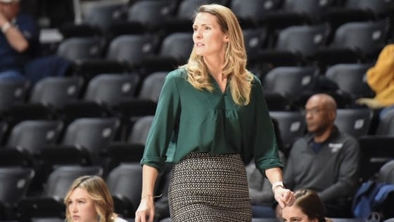 New Holy Cross head women's basketball coach Maureen Magarity has been hard at work remotely to establish relationships with her new players.