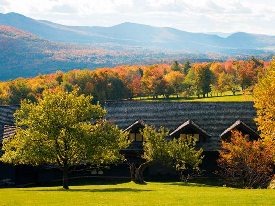 Views from Trapp Family Lodge in Stowe.