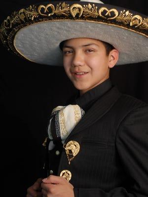 """Sebastien De La Cruz, known as """"El Charro de Oro,"""" is set to perform Saturday during the Mariachi Loco Music Festival in Downtown El Paso."""