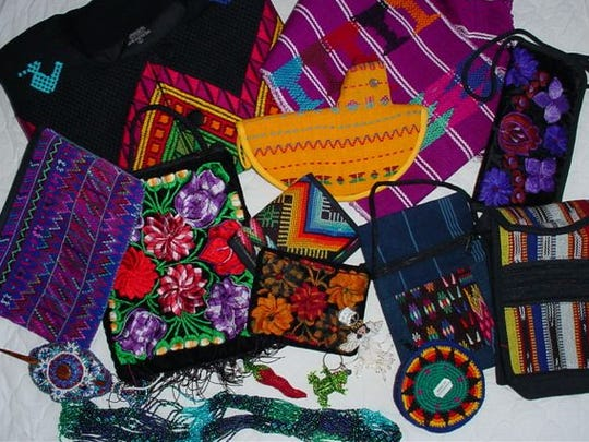 Handbags, wallets, and pocket books are only a few of the goods that will be available for purchase during the Guatemalan Mercado.