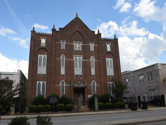 The Historic Franklin Masonic Hall was used as Union
