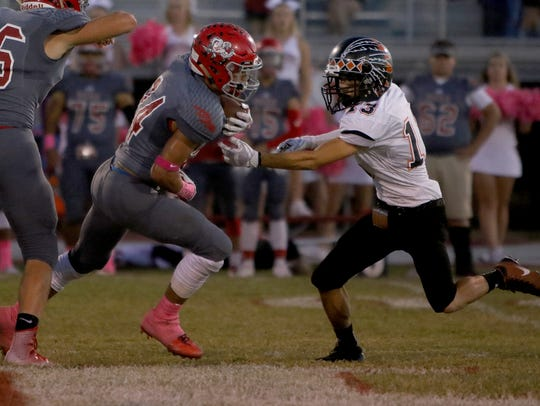 Holliday's Tristin Boyd rushed for 976 yards as a sophomore.