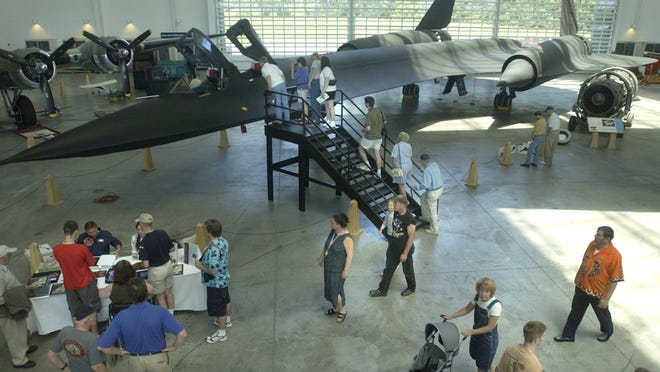 Annual SR-71 Father's Day Weekend is happening 11 a.m. to 3 p.m. Saturday and Sunday at the Evergreen Aviation and Space Museum, 500 NE Michael King Smith Way, McMinnville.