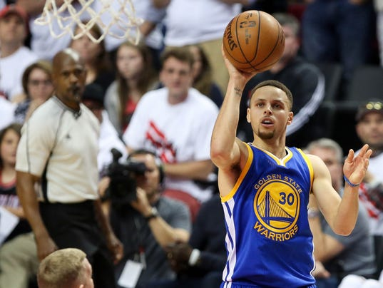 NBA: Playoffs-Golden State Warriors at Portland Trail Blazers