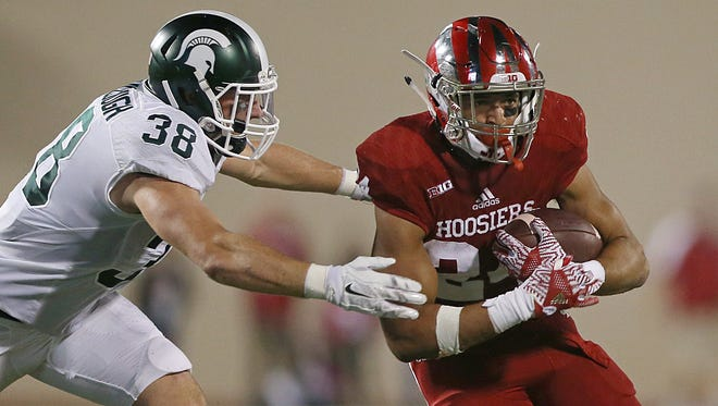 Mike Majette has played each of the last two seasons, making him one of IU's most experienced running backs.