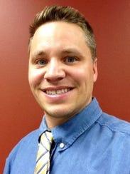 Joel Gregozeski, Greenville town administrator.