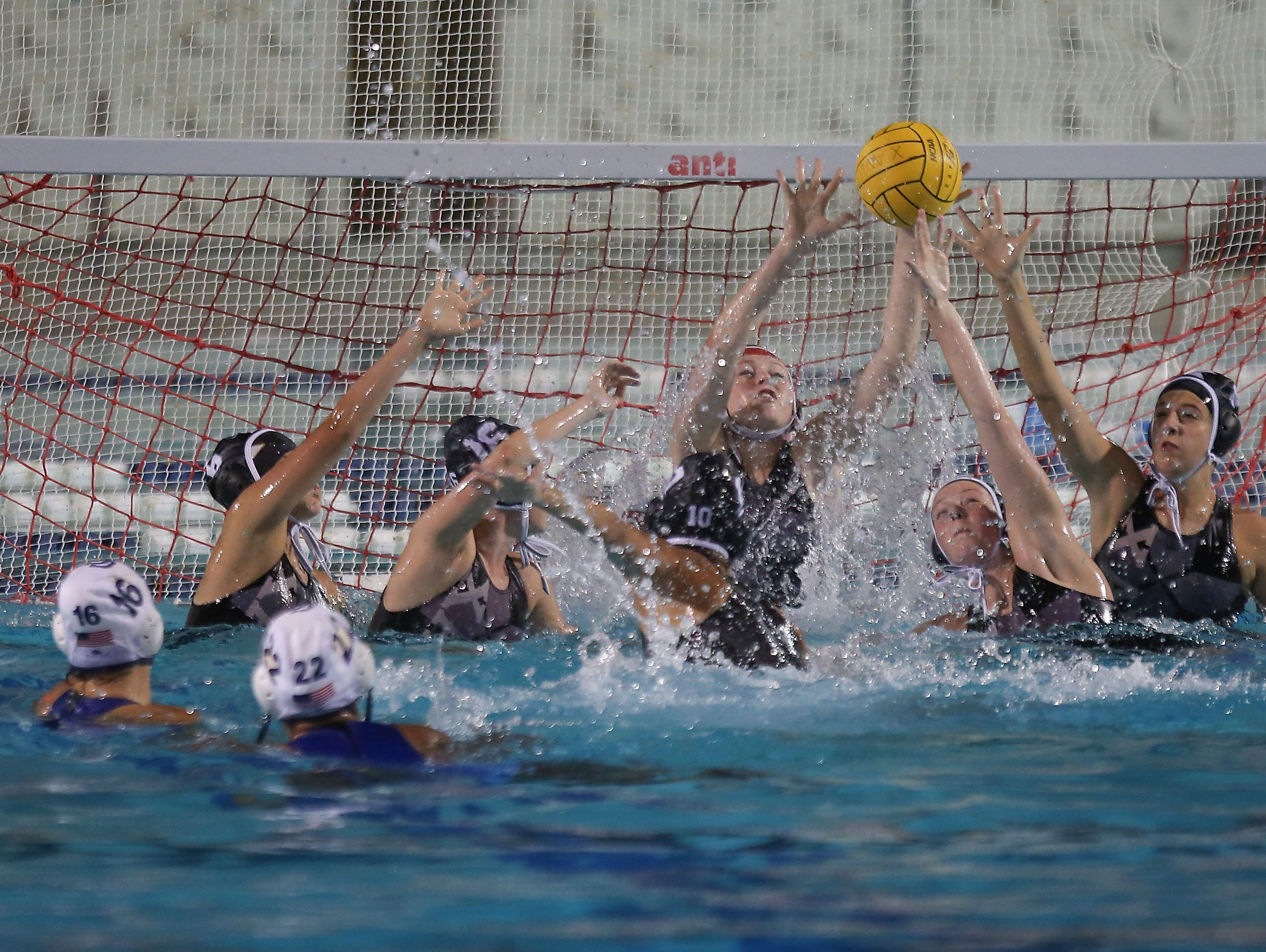Xavier Prep girls water polo defeats Culver City in the first round of CIF Playoffs, February 14, 2017.