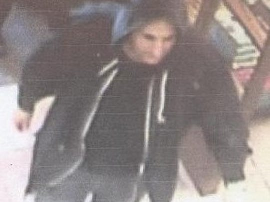 Police are looking for this suspect in a shoplifting at Barnes and Noble in Evesham.
