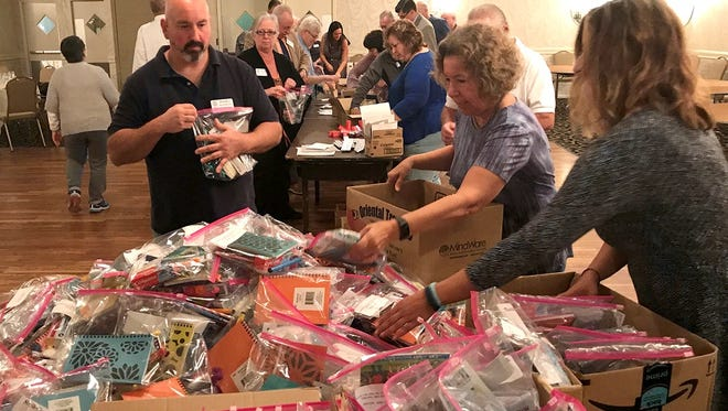 """Vineland Rotary Club supported """"Healthy Bags for Happy Kids,"""" a project to benefit Haitian children in need."""