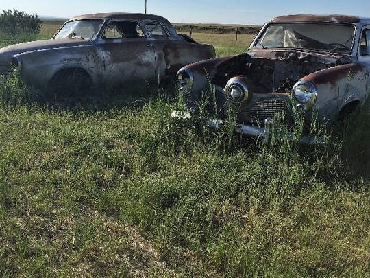 Two bullet-nosed Studebakers will be up for bid at the Rustless in Montana auction east of Cut Bank Aug. 26.