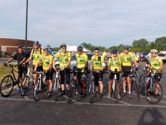 Canton Old Gear Shifters photographed before the start