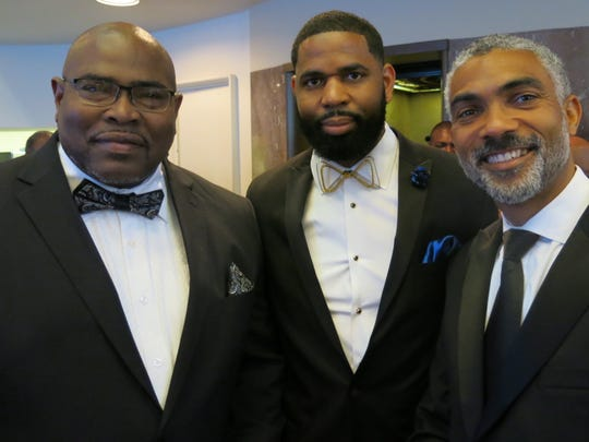 Rodney Giles, Dr. Alan Jackson, George Stiell at Southern