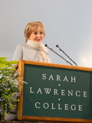 Sarah Lawrence College celebrates graduation, May 23, 2014 in Yonkers.
