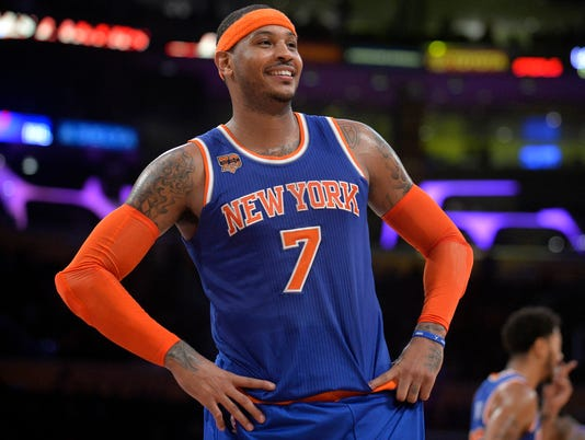 USP NBA: NEW YORK KNICKS AT LOS ANGELES LAKERS S BKN USA CA