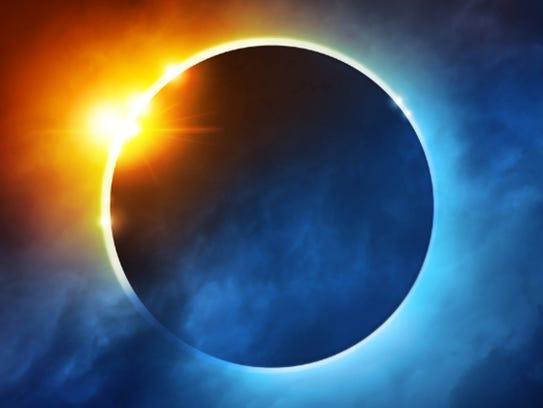 ASU Planetarium Solar Eclipse graphic