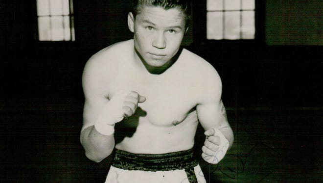 Lightweight world contender Henry Gutierrez at the prime of his boxing career.