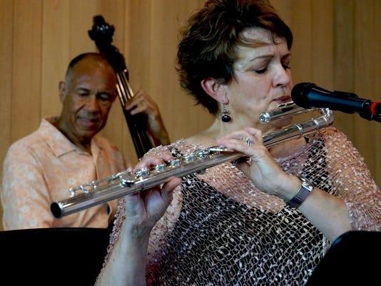 Holly Hofmann and John Clayton