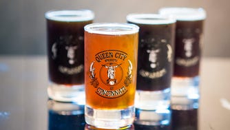 Queen City Brewery of Cincinnati opened December 30, 2016 in Blue Ash. They brew the James Nut Brown, 7 Hills Highlander Scotch Ale, Hall of Justice IPA and the Dark Knigh P.A., a black IPA.