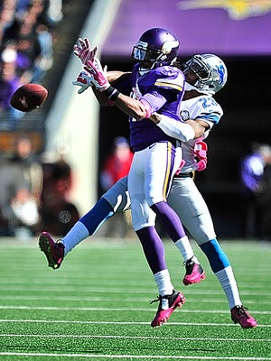 The Lions beat the Vikings in their first meeting this season, 17-3 at Minneapolis on Oct. 12.