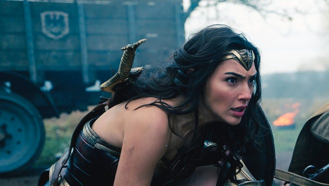 Diana Prince (Gal Gadot) takes to the World War I front in 'Wonder Woman.'