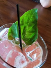 The Rocco staff was up to the task of whipping up a mocktail.