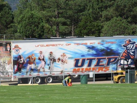 UTEP arrives in ruidoso