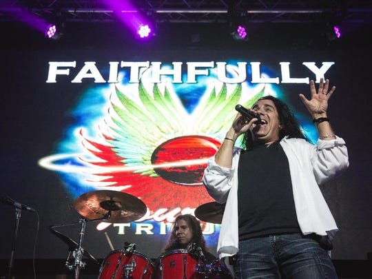 A concert by Faithfully: A Tribute to Journey will be held Thursday at Levoy Theatre in Millville.