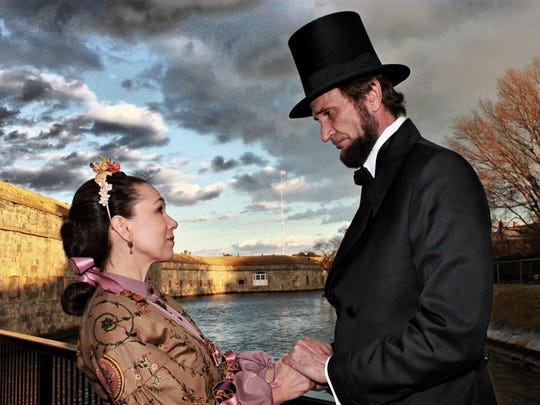Michael Krebs and Debra Ann Miller will impersonate Abraham and Mary Todd Lincoln at Thomas Duncan Hall.
