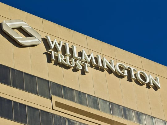 The Wilmington Trust building in Wilmington.