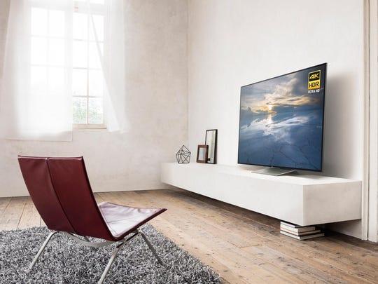 1Sony X930D 4K TV - Lifestyle2