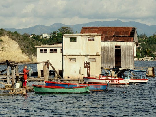 This fishing shack is on Cayo Granma Island, a small