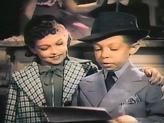 "Olive and George Brasno, along with their brother Richard, starred in the 1934 film ""The Mighty Barnum."""