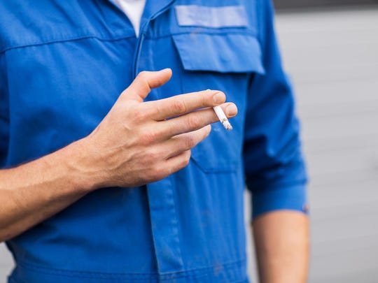 The corporate cost per smoker is estimated to be in the thousands of dollars per year.