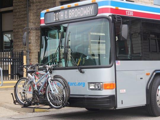 A TARC bus.
