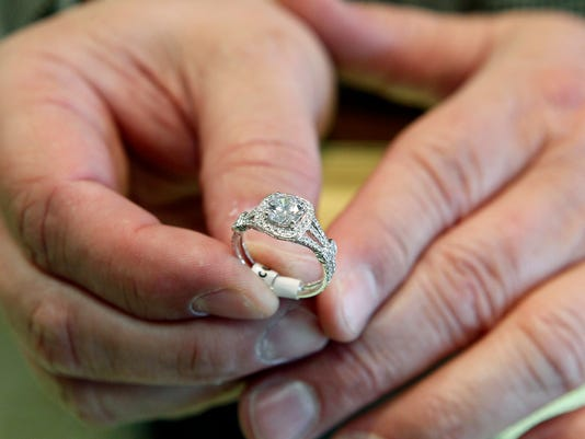 On The Money Engagement Rings