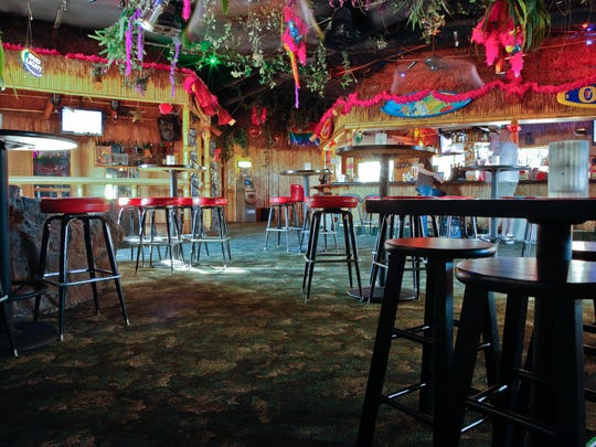 Toucans Tiki Lounge in Palm Springs underwent a design makeover in 2014 but retained its Tiki vibe.