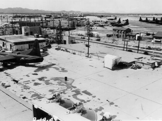 Litchfield Naval Air Facility was established in 1943 on the site of what is now the Phoenix-Goodyear Airport. It was decommissioned in 1967.