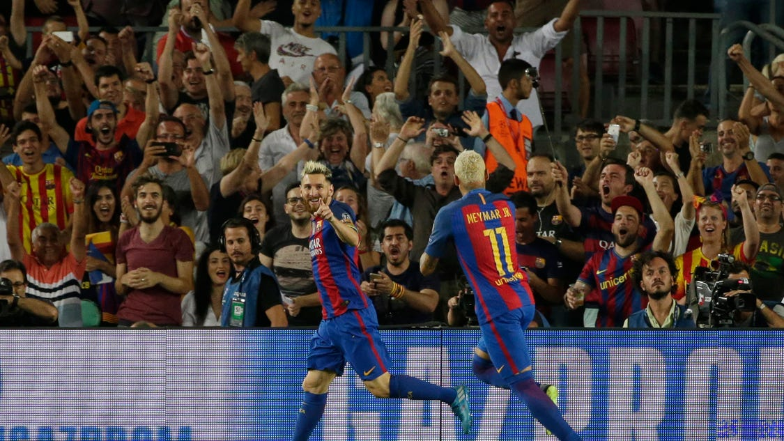 Inspired trio quickly puts barcelona back on track - Firefly barcelona ...