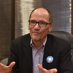 Secretary of Labor Thomas Perez speaks with the RGJ on Feb. 1, 2016
