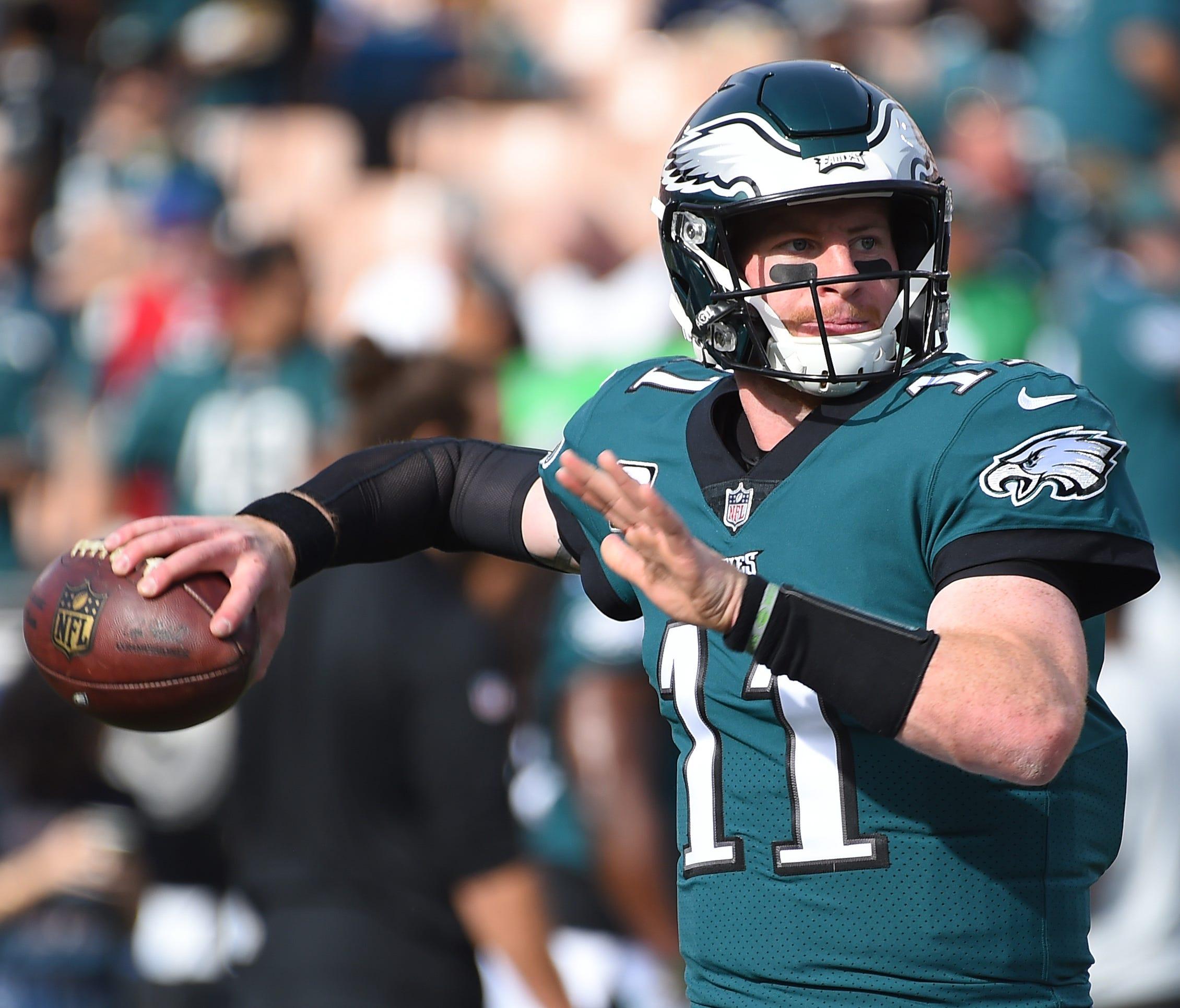 QB - Carson Wentz, Philadelphia Eagles